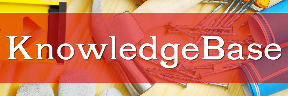 knowledgebase header